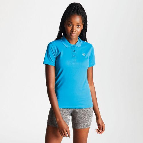 Women's Set Forth Polo Shirt Blue Jewel